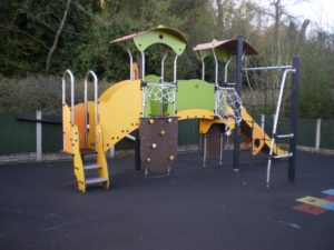 Climbing Frame and Slide- soft play